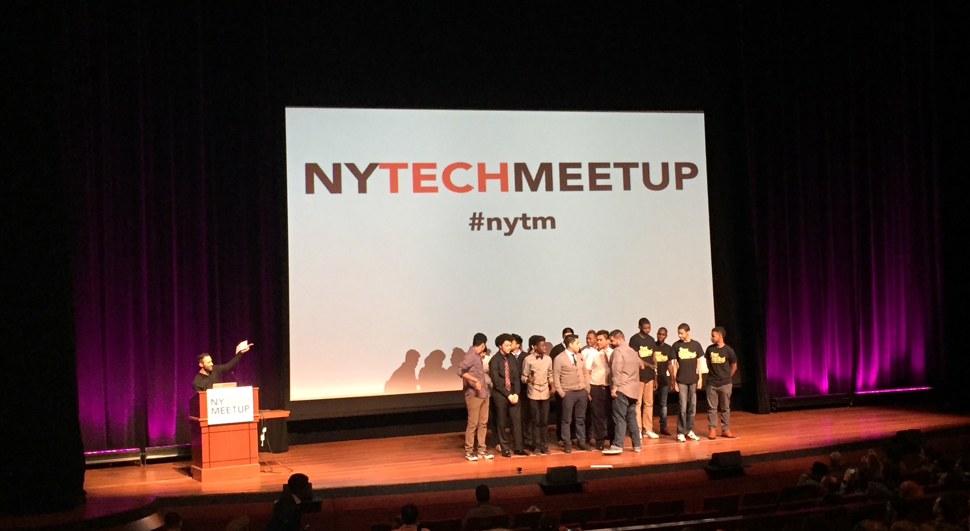 NY Tech Meetup - March 2016